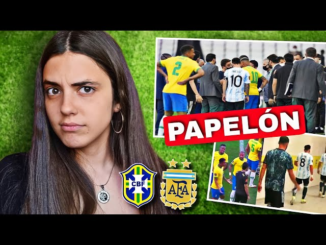 ARGENTINA vs BRASIL   Reacción a PARTIDO SUSPENDIDO *vergonzoso*   Eliminatorias Qatar 2022