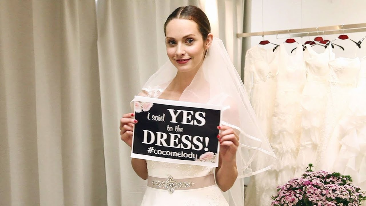 Tips For Going Wedding Dress Shopping Cocomelody Youtube