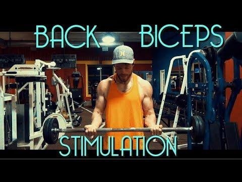 Maintenance Physique Regimen - Body Bulk Week 2 Friday (Back Biceps)