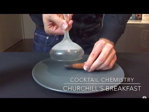 A cocktail called Churchill's Breakfast