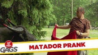 Accidental Matador Prank  Just For Laughs Gags
