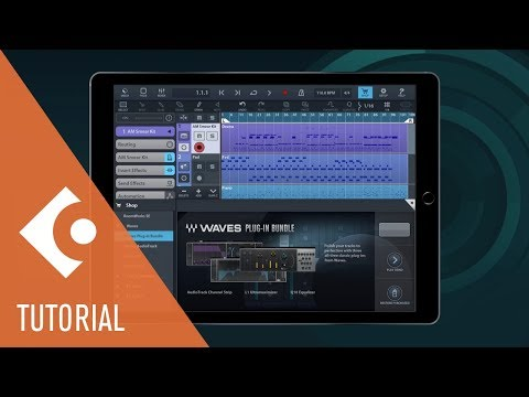 New Waves Plug-ins Featured in Cubasis 2.3 | New Features in Cubasis 2