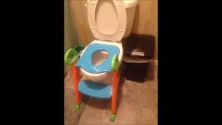 OxGord Toilet Potty Step Trainer - Potty Training Chair