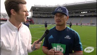 Blues Captain Augustine Pulu return from injury - 2018 Super Rugby