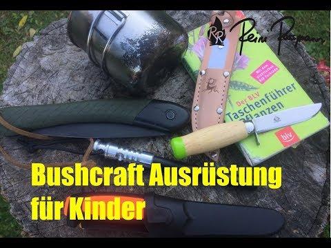 günstige Survival & Bushcraft Ausrüstung für Kinder
