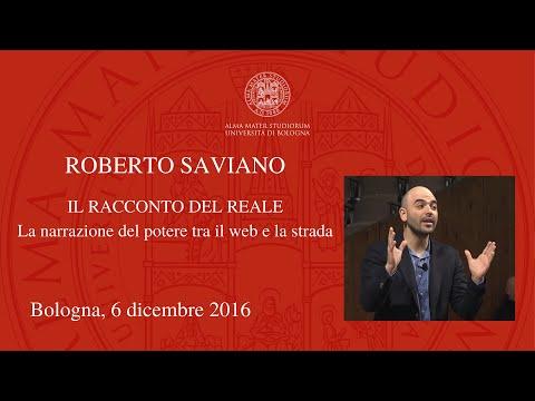 Roberto Saviano – Il racconto del reale. La narrazione del potere tra il web e la strada [integrale]