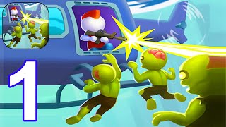 Helicopter Escape 3D - Gameplay Part 1 All Levels 1-6 (Android, iOS) #1 screenshot 2