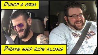 duhop Pirate Ship Ride Along vlog