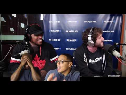 Lil Dicky- Sway In The Morning Freestyle (REACTION!!!)