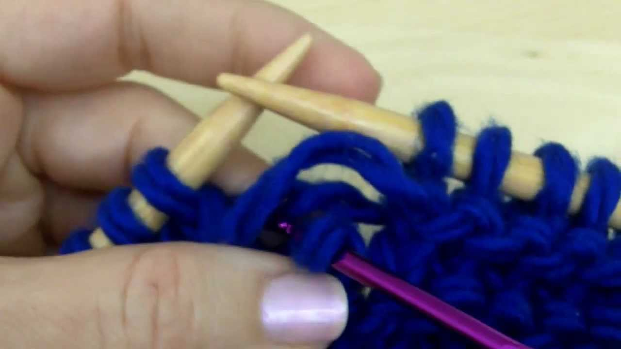How To Knit Fix A Dropped Purl Sch Knitting