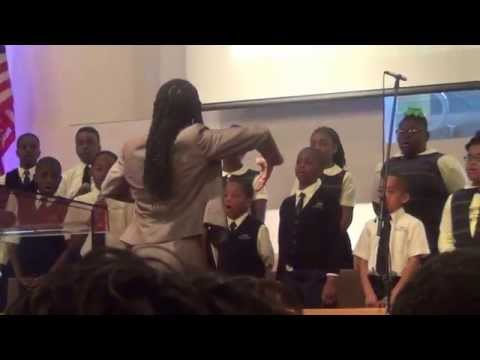 Crossroads Adventist School Choir performed: A Medley. 05-16-15.