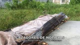 LLEVAN CADÁVER SIN ATAÚD AL CEMENTERIO DEL CUEY EN EL SEIBO