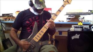 VOIVOD * FROM THE CAVE * BASS COVER