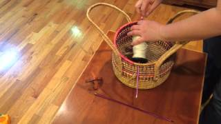 Make an cheap and easy Lazy Kate with materials you have at home wi...
