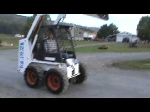 1995 Bobcat 743b Skid Steer Loader Very Nice And Clean For Sale