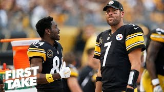 Big Ben, Antonio Brown need to stop beefing like teenagers - Max Kellerman | First Take
