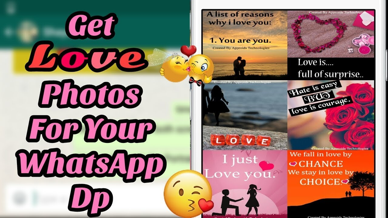 Love Profile Photos For Whatsapp Dp Best Dp And Status App