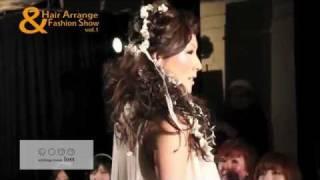 2012年2月22日に大名ROOMSで開催された「HairArrange & FashionShow vol...