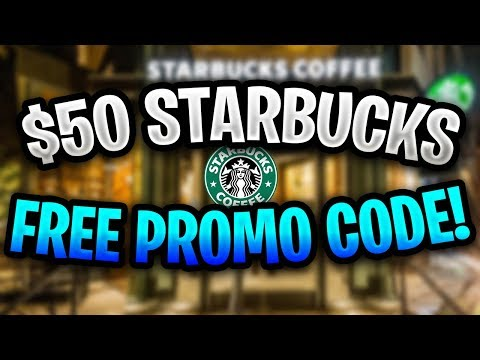 Free Starbucks Promo Code 2019 ✅ $50 Starbucks Promo Code Working In 2019! ✅ Starbucks Coupon Code