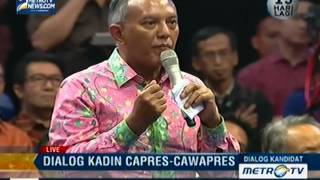 Dialog Kadin Capres dan Cawapres: Jokowi-JK (4)