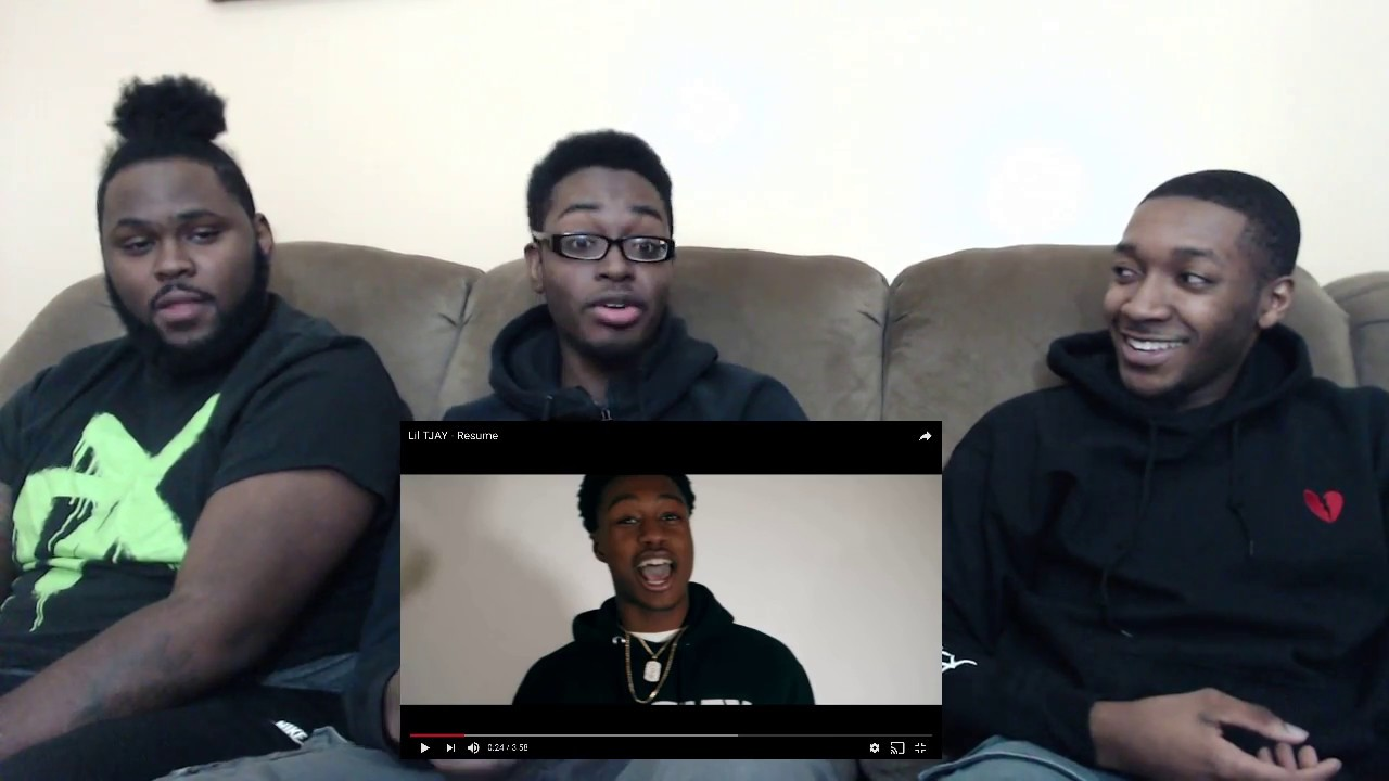 lil tjay - resume  official music video  reaction