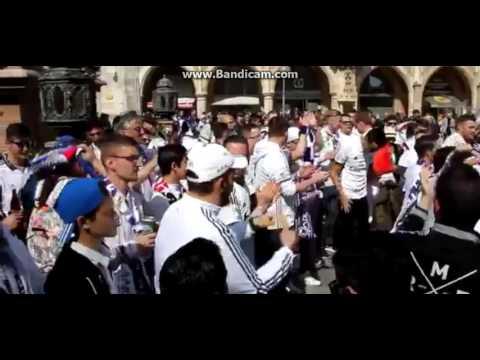 Real Madrid Fans Celebrate in Munich -  Bayern Munich vs Real Madrid - 12/04/2017