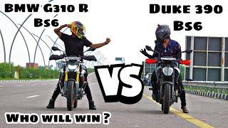 Bmw G310 R Bs6 VS Ktm Duke 390…