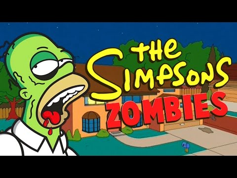 THE SIMPSONS ZOMBIES ★ Call of Duty Zombies Mod (Zombie Games)