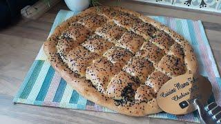 الخبز التركي هشيييش حتى ويبات والبنة تهبل  Fladenbrot