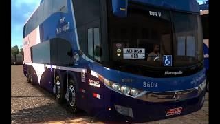 ETS2 v1.28 I EAA Bus v 4.4 Mod ★ Brasilien Bus Map + Passagier ★ brasil Coach  1080p60.....#1