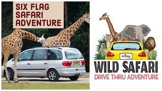 Six Flags Great Adventure Safari Drive Thru  Tour &amp Review   2020 I Happy Home maker subhra