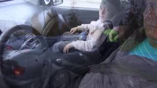 Верхняя Салда, Сотрудники ГИБДД проверили водителей на безопасность перевозки детей