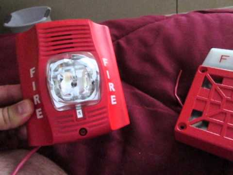 Wheelock 7002t And A System Sensor Spectralert Advcance