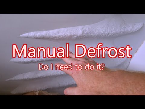 Manual Defrost vs Automatic Defrost