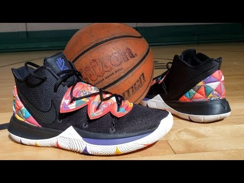 bacad892aa70 NIKE KYRIE 5  CNY  SNEAKER PERFORMANCE REVIEW - YouTube