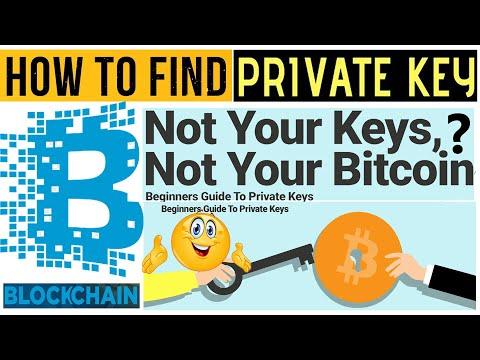 How To Find Private Key In Blockchain Com   Blockchain Tutorial