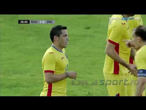 Romania 1-0 RD Congo (Gol Stanciu!)