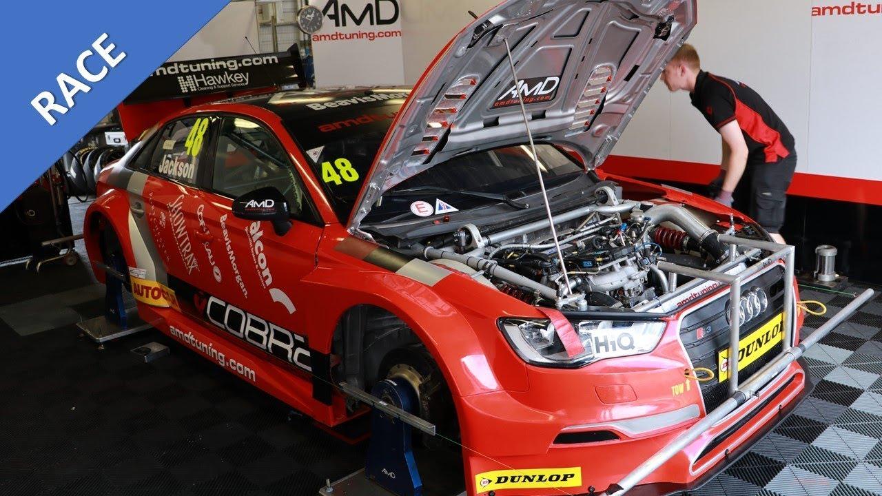 How to setup a Audi S3 BTCC British Touring car [Amd Tuning]