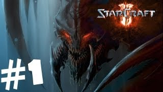 StarCraft 2 Heart of the Swarm Walkthrough Part 1 [1080p HD] Gameplay Review Lets Play Hard Campaign