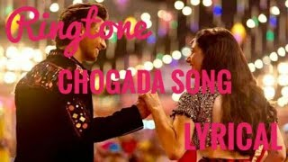 Chogada Song | Lyrical Ringtone | Loveratri Movie | Free Download