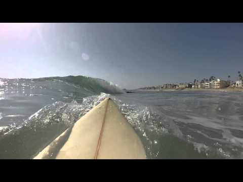 go pro surfing summertime in san diego