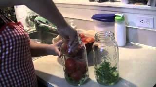 Консервирование помидоры
