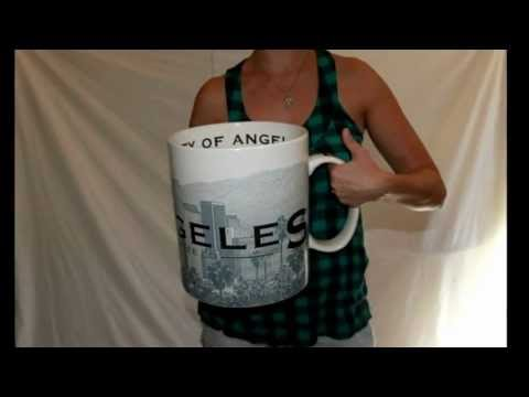 Giant Starbucks Mug For Sale on Ebay! HUGE 2 1/2 Gallon Los Angeles City Mug $0.01
