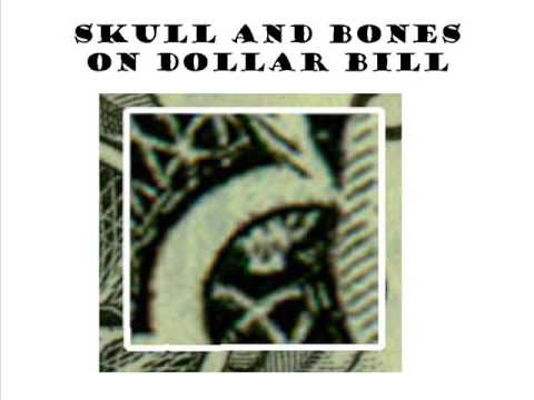 Must See Skull And Bones On Dollar Bill Not Spider Or Owl Youtube