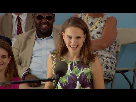 Natalie Portman Harvard Commencement Speech | Harvard Commen