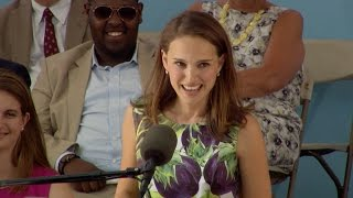 Natalie Portman Harvard Commencement Speech | Harvard Commencement 2015 thumbnail