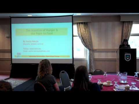 Vermont Foodbank Hunger Action Conference: Smita Narula