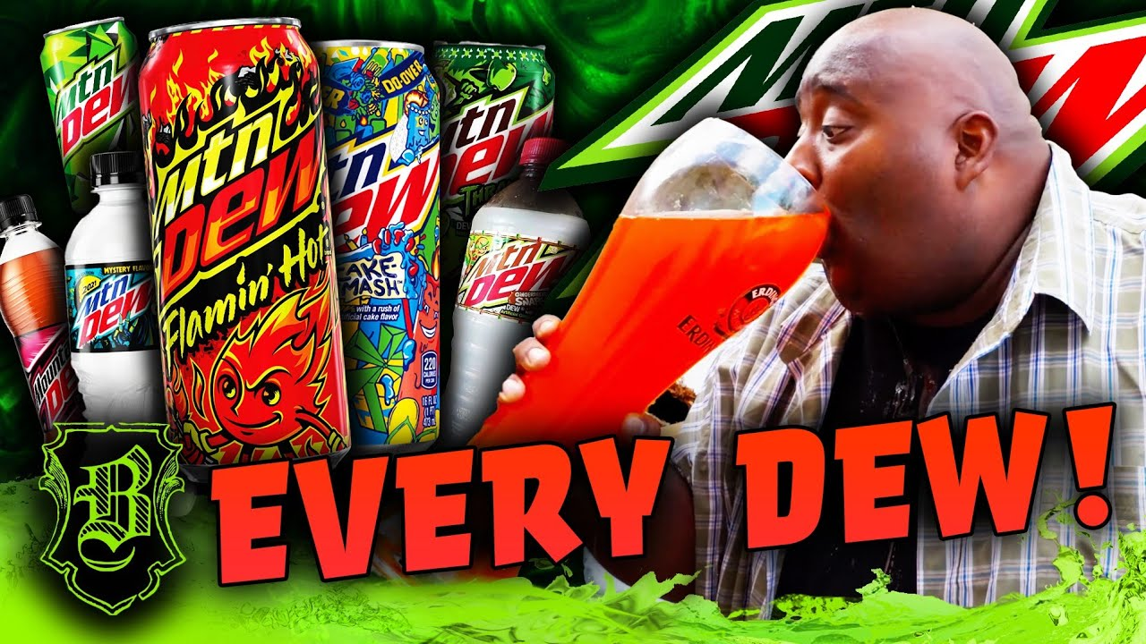Download Mtn Dew EveryDew Chug (2021 Edition) In the HUGE Gallon Glass!