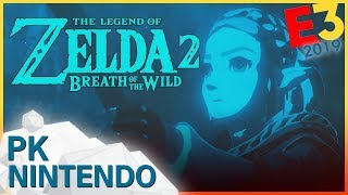 E3 2019 | NINTENDO PK: Zelda Breath of the Wild 2, Witcher 3 Wild Hunt Switch, Animal Crossing