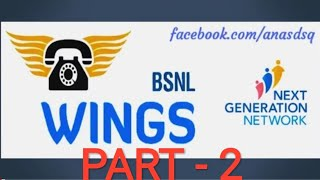 BSNL WINGS APP CONFIGURATION  PART 2